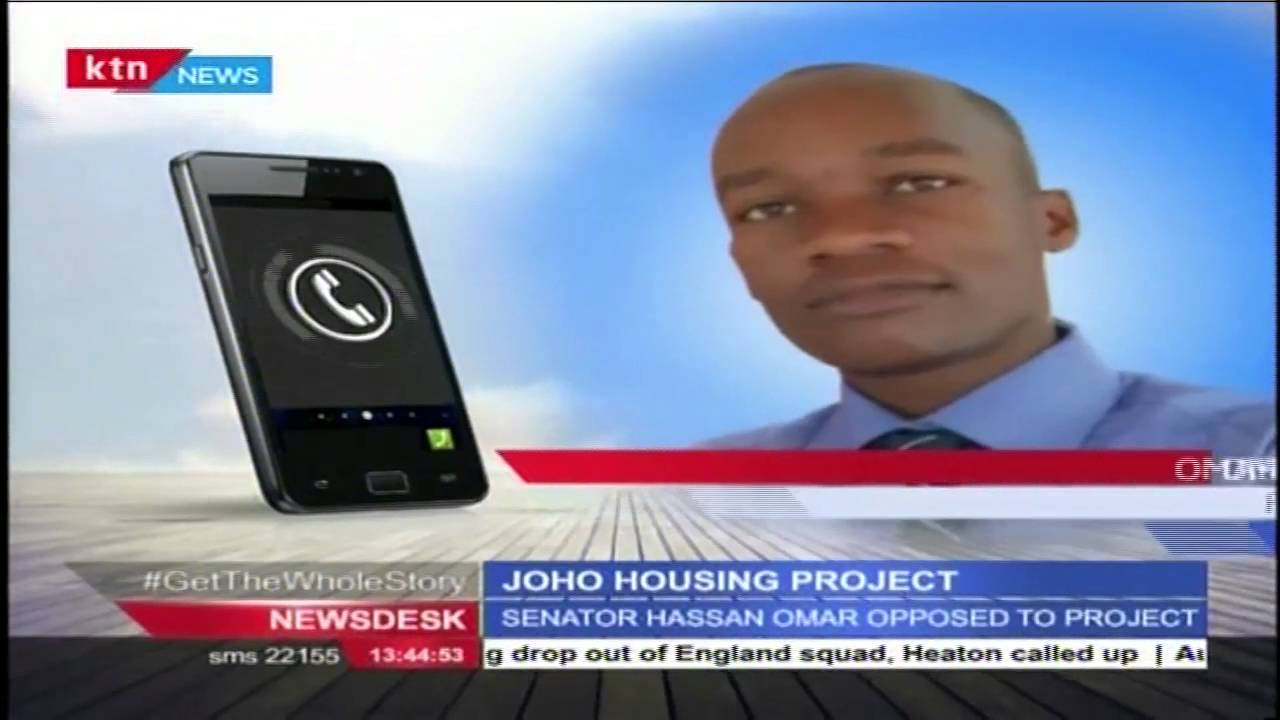 Joho insists that the housing project will go on