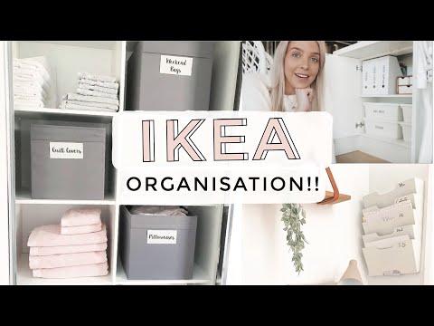IKEA Must-Haves For Home Organisation! IKEA HACKS// Organisation Hacks