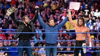 Dean Ambrose, The Usos & Dolph Ziggler vs. The Wyatt Family: SmackDown, HD