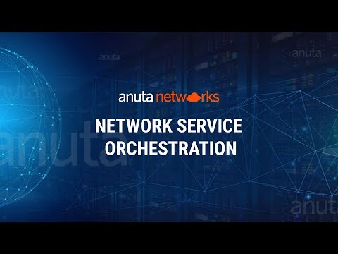 Anuta NCX - Network Service Orchestration with YANG Models