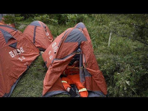 Sichuan landslide: 10 bodies found, 93 people remain missing