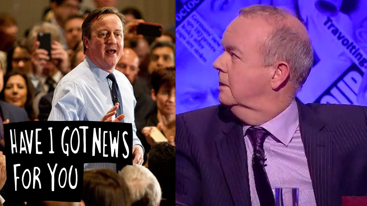 Cameron Pumped Up - Have I Got News For You - YouTube