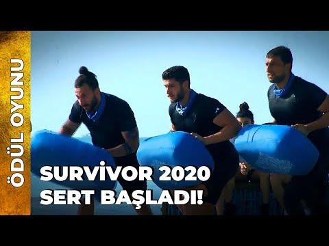Survivor Tarihine Geçen Ödül Oyunu | Survivor Ünlüler Gönüllüler