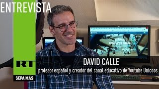 """David Calle : """"En España se ha perdido el respeto al profesor"""" - Entrevista"""