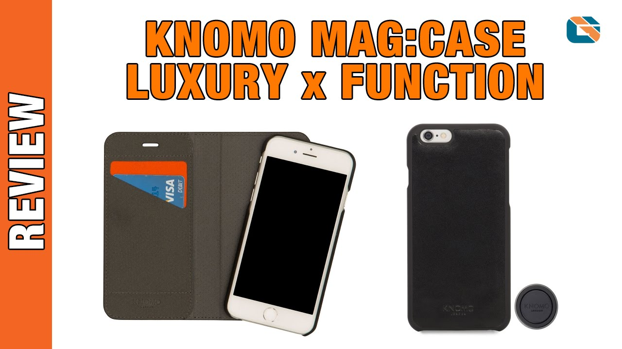 big sale 153fa f889e Knomo Leather Mag Case • Mag Folio • Mag Mount Review