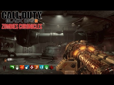 ZOMBIES CHRONICLES   ASCENSION Y MOON  EASTER EGG    BLACK OPS 3 ZOMBIES DLC 5