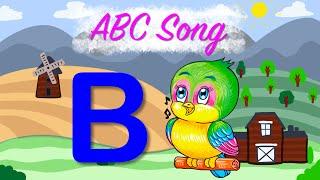 ABC-Lied: lernen Alphabete A-Z für Kinder mit schönen cartoons