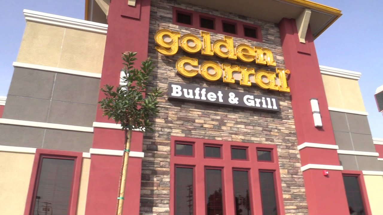 Golden Corral Grand Opening Youtube