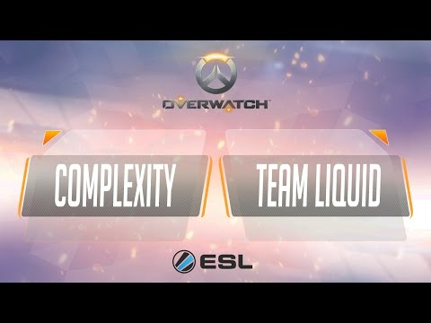 Overwatch - Complexity vs Team Liquid  - ESL King of the Hill - Week 1
