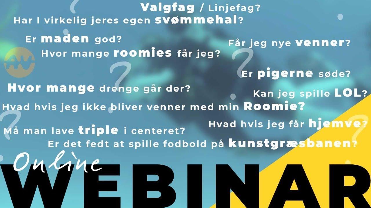 Webinar // Efterskolernes Dag // Agerskov Ungdomsskole