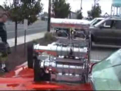 Pontiac GTO Twin-Blower