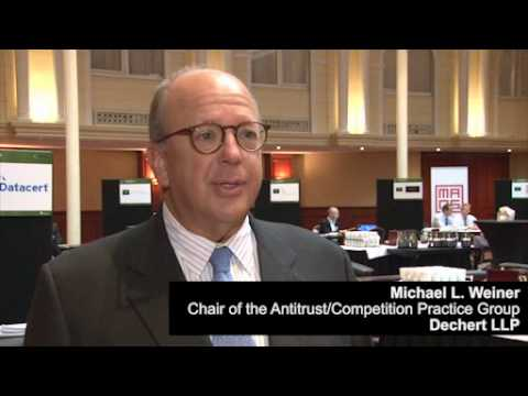Michael L. Weiner, Chair of the Antitrust/Competition Practice Group, Dechert LLP