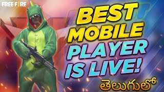 Free Fire Live - Free Fire Telugu Live -GUILD WARS