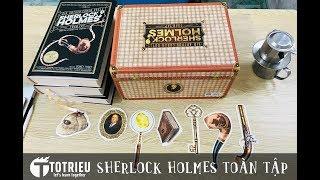 Sách Sherlock Holmes Toàn Tập - Đông A - Sách trên tay khui hộp thực tế