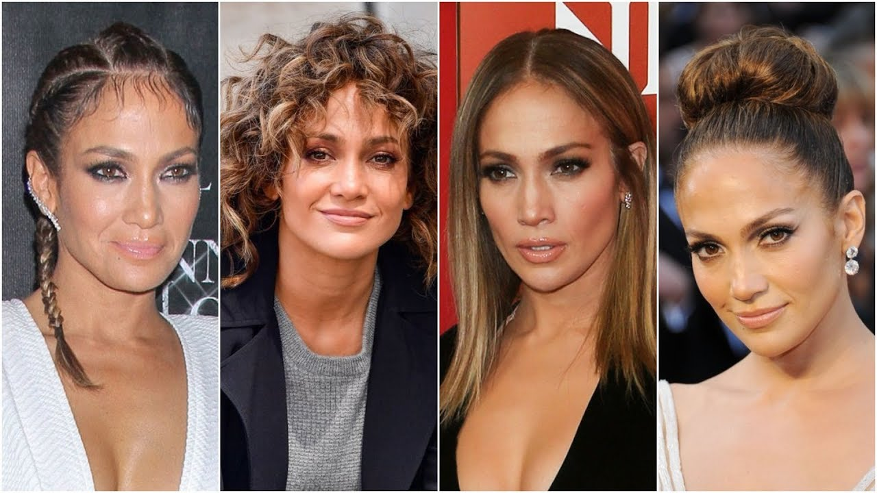 Jennifer Lopez Top Hairstyles 2018 | Social Diva - YouTube