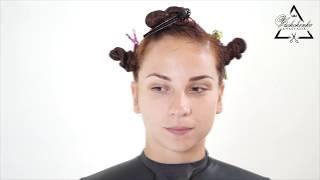 Быстрая салонная женская стрижка на длинные волосы / Обучение Курс для парикмахеров бесплатный