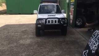 Suzuki Jimny off road bull bar 2012+ bonnet scoop