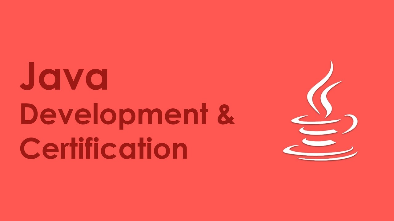 Java Development Training Java Development Certification