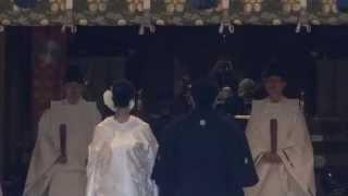 Япония. Синтоистские свадьбы в токийском храме Юсима