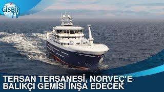 Gambar cover Tersan Tersanesi, Norveç'e balıkçı gemisi inşa edecek