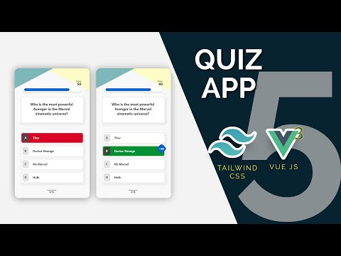 Quiz App with Vue 3, Tailwind and Open Trivia API Part 5: Countdown timer
