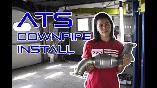 ZZP Install- ATS Downpipe