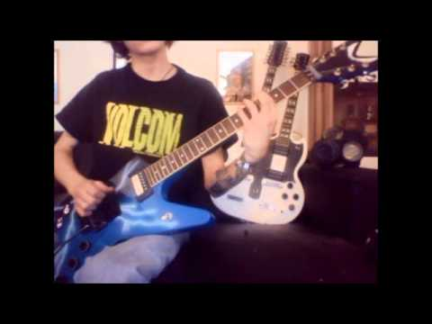Damageplan - Moment of truth Guitar cover