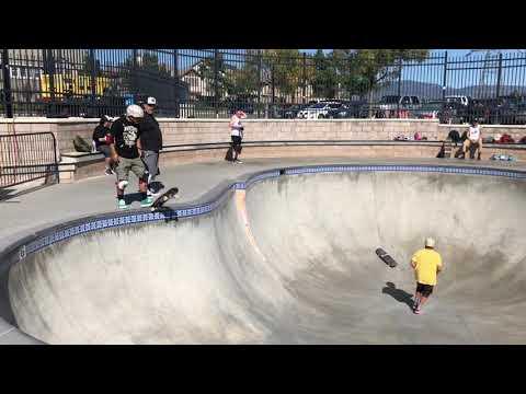 Fontana North Skatepark Ten Year Anniversary Steve Alba , Powerflex 5, Steve Caballero, Mike McGill