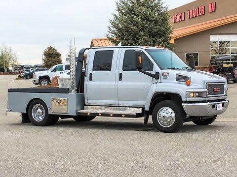 2004 Gmc C5500 Hauler Truck Transwest Truck Trailer Rv