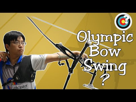 Why Do Olympic Archers Swing Their Bows?