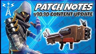 Fortnite Stw: Patch Notes v10.10 Content Update