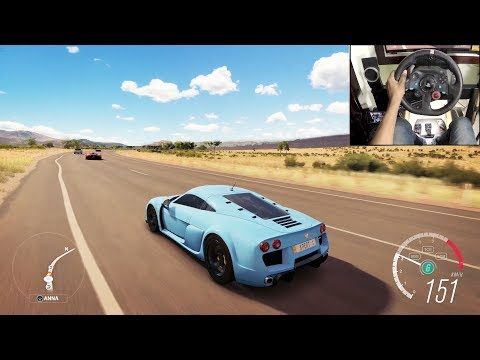 Noble M600 – Forza Horizon 3 | Logitech g29 gameplay