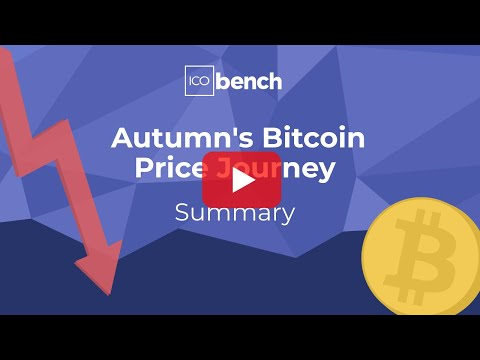 Autumn's Bitcoin Price Journey In 90 Sec – By ICObench