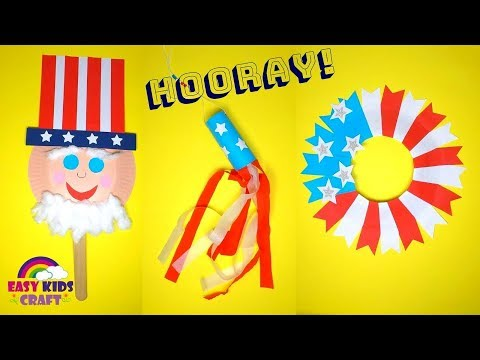 Crafts For Kids | 4th July Crafts For Kids