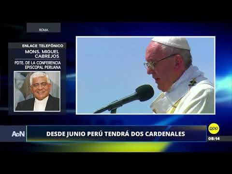 ADN│Monseñor Cabrejos aclaró que Pedro Barreto no reemplazará a Juan Luis Cipriani en el cargo