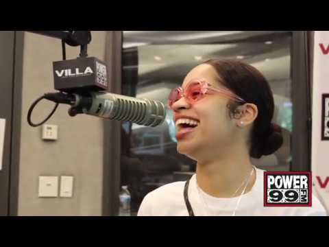 Ella Mai Interview with Rise & Grind Morning Show at Power 99