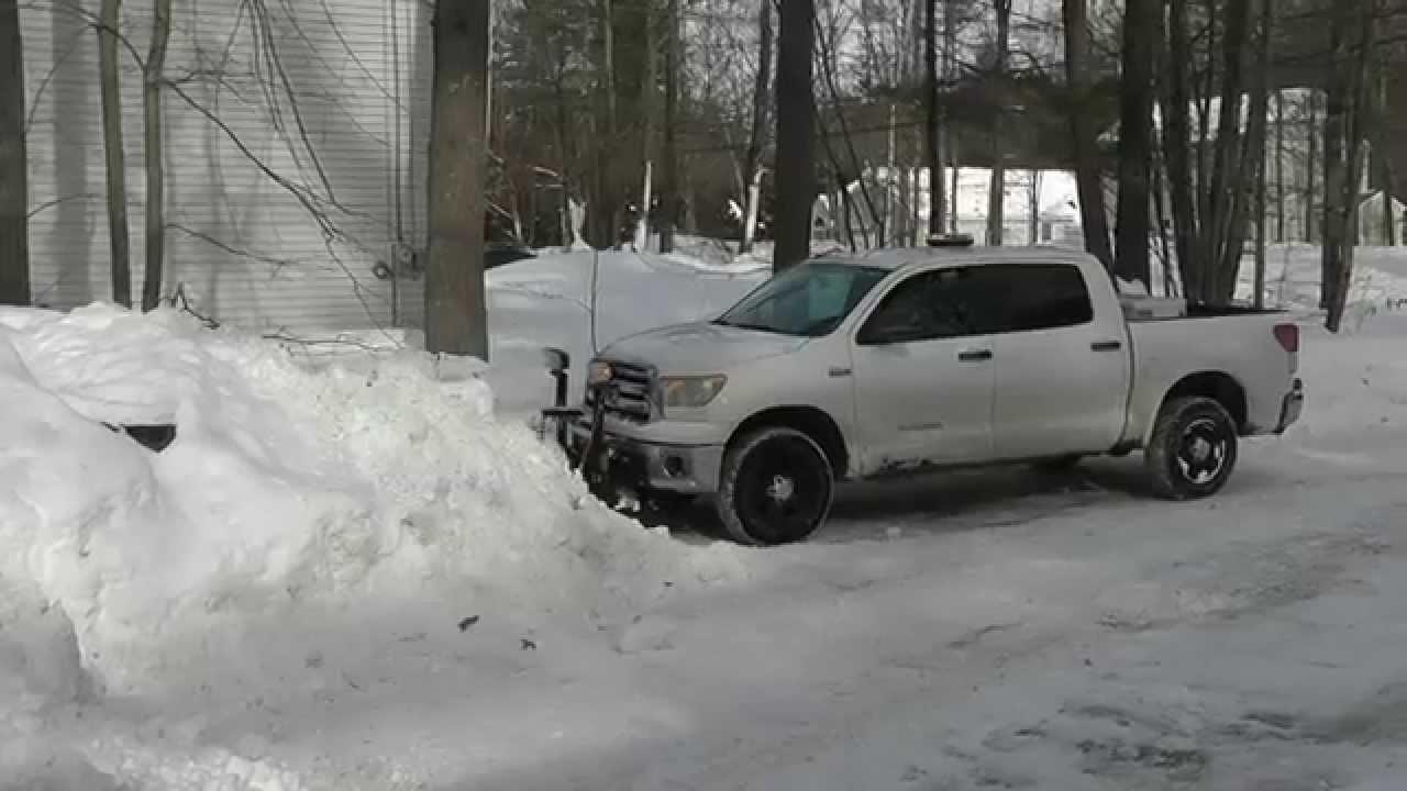 Toyota Tundra Snow Plow