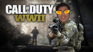 Call of Duty: WWII - TECLADINHO LINDINHO e BRINCANDO no Search and Destroy