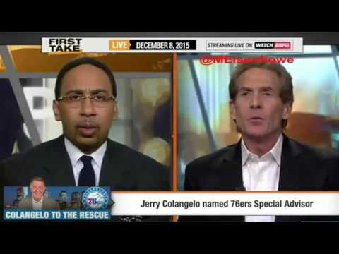 ESPN First Take   Is Jerry Colangelo the Philadelphia 76ers Fixx