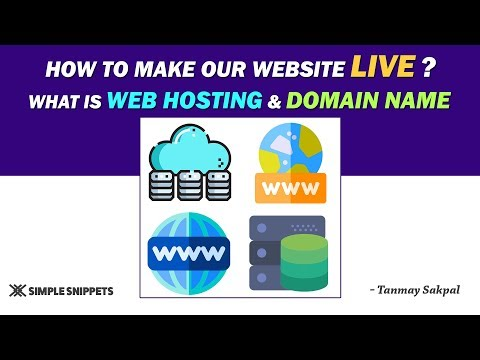 What is Web Hosting? | How to make a website live? (Theory) | Tutorial – 18