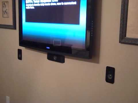 Low Cost Home Surround Sound System Custom Look Youtube