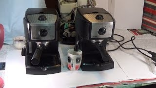 Ремонт кофеварки Delonghi EC 155(Ремонт кофеварки слабое давление воды. Способы устранения., 2015-01-17T19:04:36.000Z)