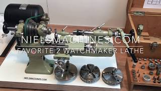 Favorite Watchmakers Lathe (Sometimes I fall in Love)