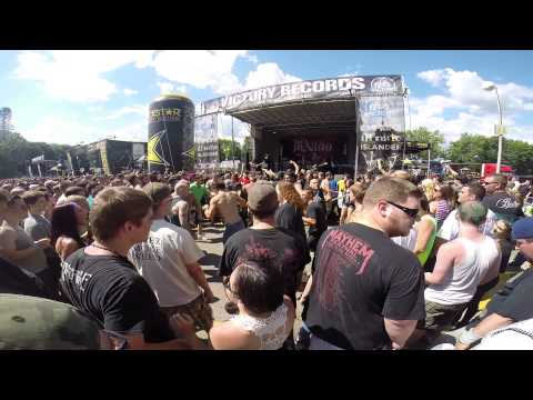Ill Nino Mosh Pit, Rockstar Energy Drink Metal Mayhem, Clarkston 2014.