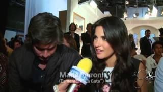 Entrevista Maite Perroni y Daniel Arenas en el final La Gata