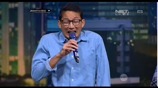 Download Video Kelucuan Sandiaga Uno Meniru Ketawa Djarot MP3 3GP MP4