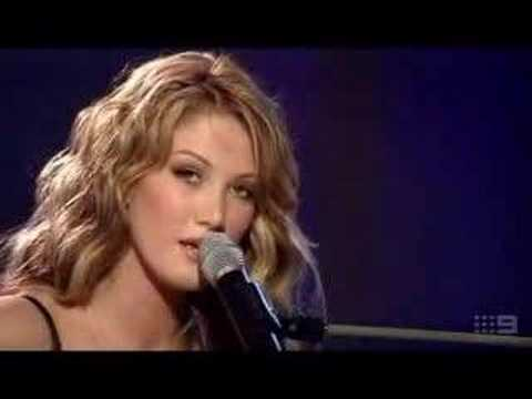 Delta Goodrem - Born To Try @ Allan Border Medal 2003