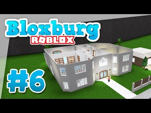 Bloxburg 6 BUILDING A SECOND FLOOR Roblox Welcome To
