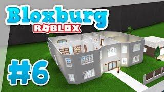 Bloxburg #6 - BUILDING A SECOND FLOOR (Roblox Welcome to Bloxburg)