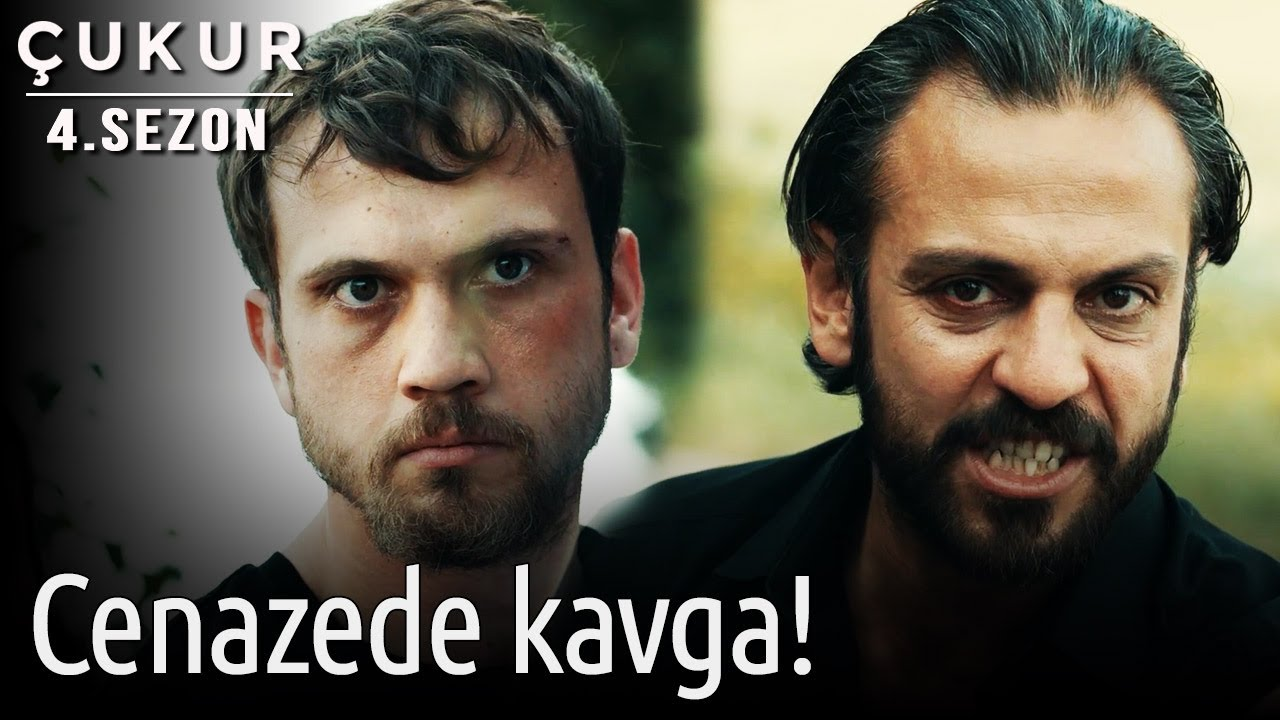 Çukur 4.Sezon 35.Bölüm – Cenazede Kavga!